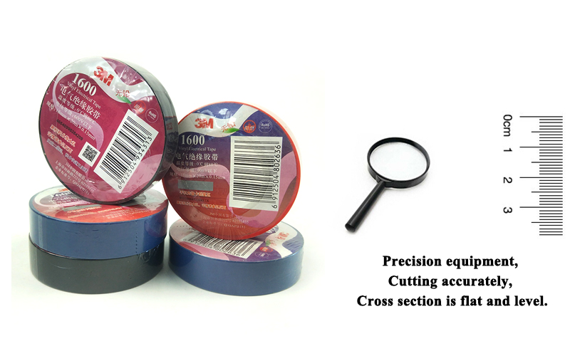 100% Original 3M 1600 Lead free Vinyl Electrical tape