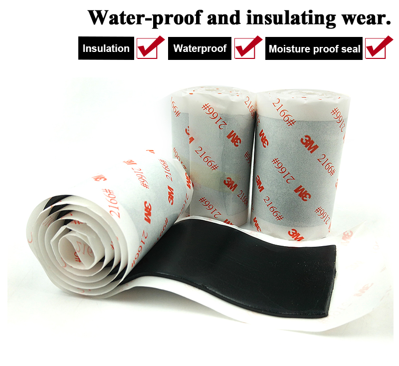 Original 3M 2166 water proof and sealing gooey/Insulation tape/plaster/60mm width *0.6m length