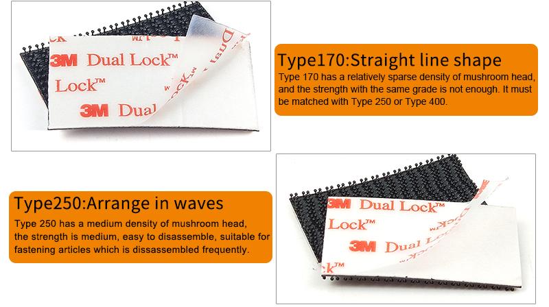 3M™ Dual Lock™ Reclosable Fastener SJ3440