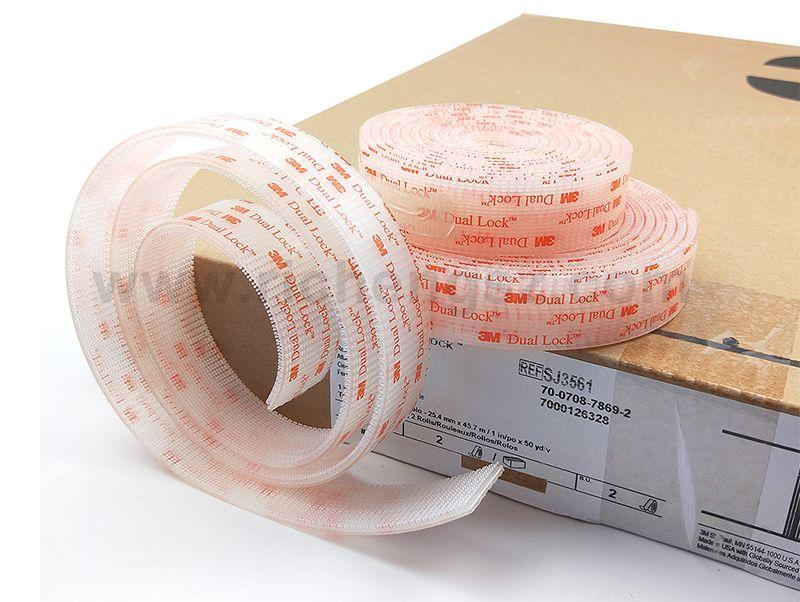 Dual Lock Transparent Tape
