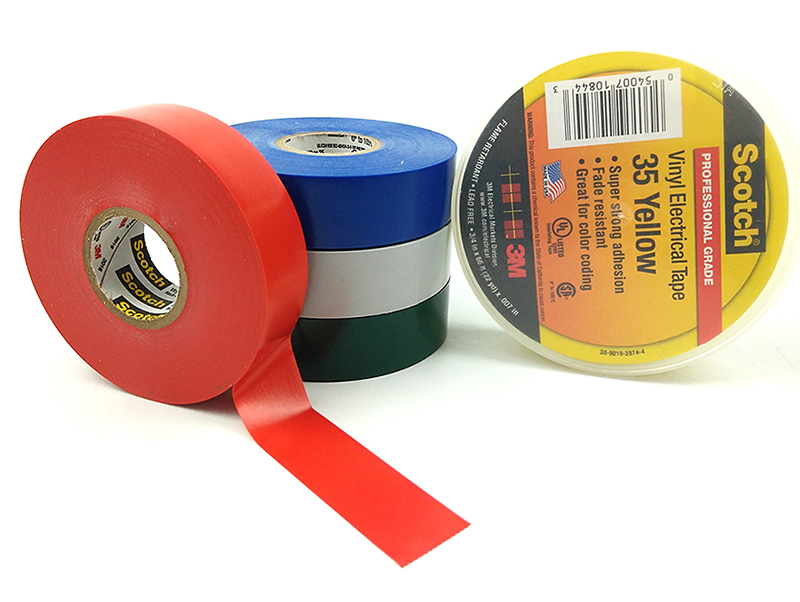 3M 35 Vinyl Electrical Colour Coding Waterproof Electrical Insulation