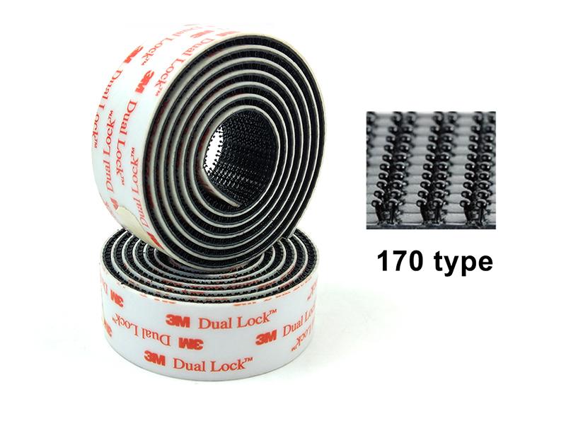 3M SJ3552 Interlocking Mushroom-Shaped Heads (170 Stem Density Per Square Inch)