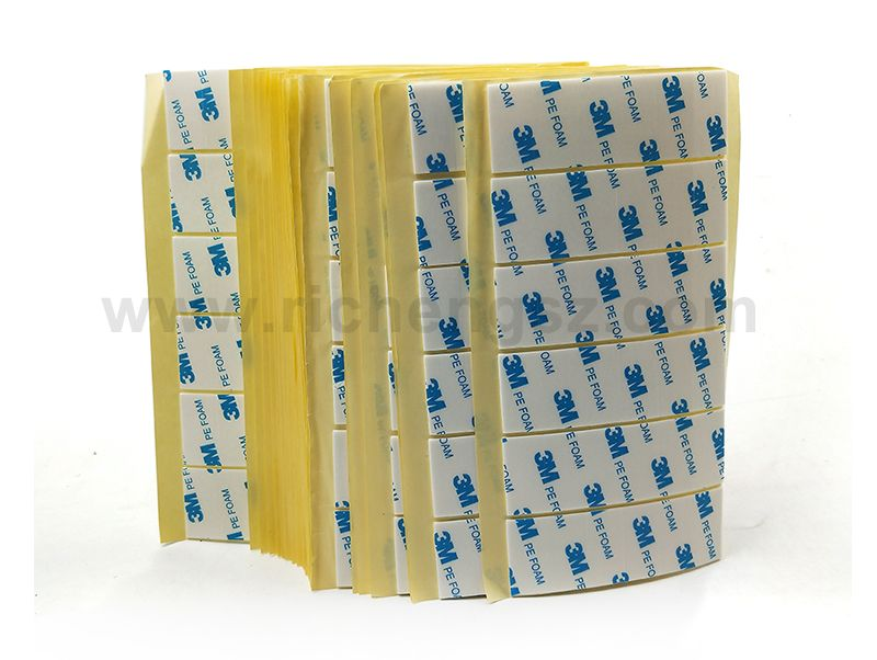 Professional Die Cutting 3M 1600T Waterproof Car Double-Sided Self Adhesive Pe Foam Tape Any size 3m double-sided tape for water