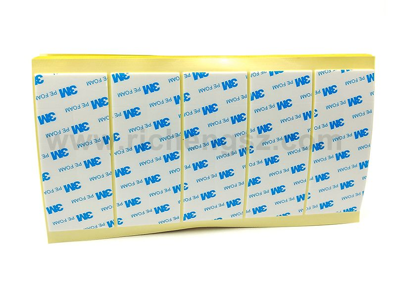 Professional Die Cutting 3M 1600T Double-Sided Tape