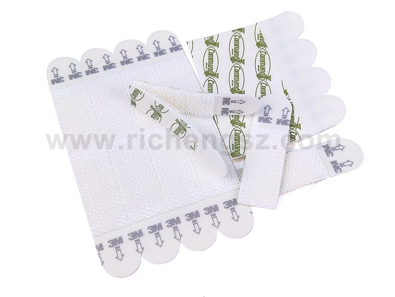 No Packing Small Size 3M Command Picture Hanging Strips High Performance Adhesive Foam Tape