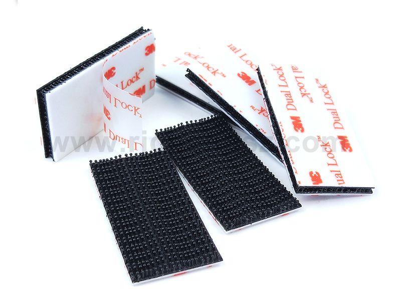 Genuine 3M Dual Lock SJ3550 Type 250 VHB Black Reclosabel Fastener Die Cut Sheets