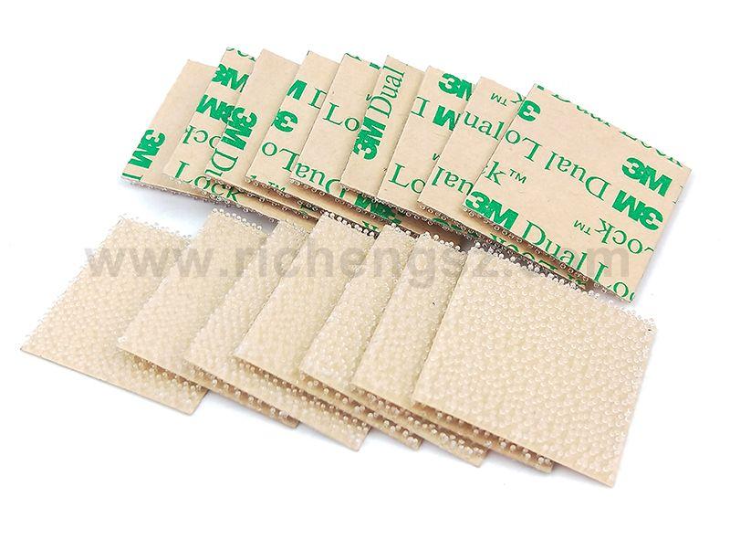 Custom Die Cut Sheets 3M Scotch SJ4570 Clear Polyolefin Fastener