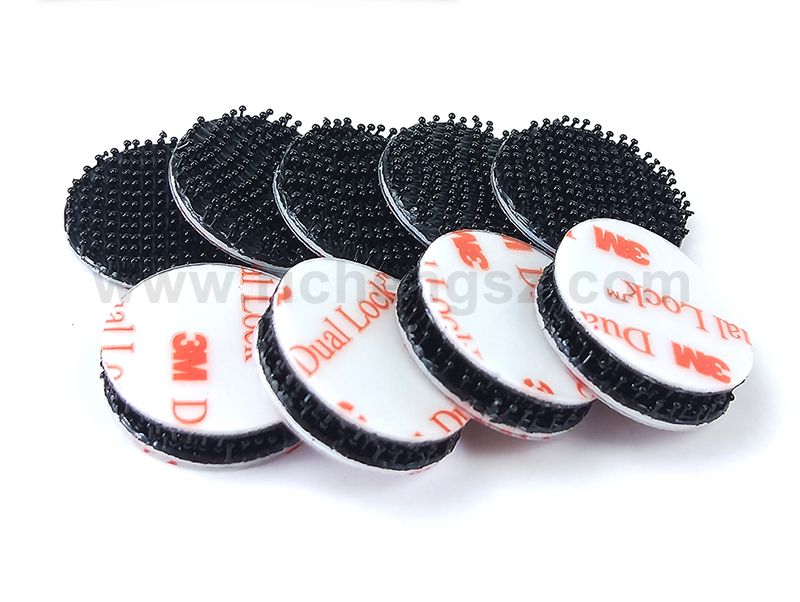 20mm circle acrylic tape 3M Dual Lock Reclosable Fastener SJ3550 Richeng Company Offer Dual lock Free Sample for circles and square or other size