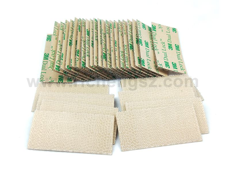 (25.4MM*50.8MM) 3M SJ4570 Clear Low Profile Fastener Dual Lock Tape.Supply 3M original reclosable fastener to slit cut