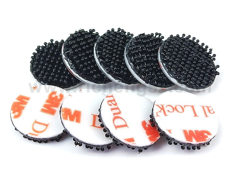 22MM Die Cut circle Dual Lock Tape 3M SJ3551 .Custom Die Cut  Reclosable Fastener circles square rectangle