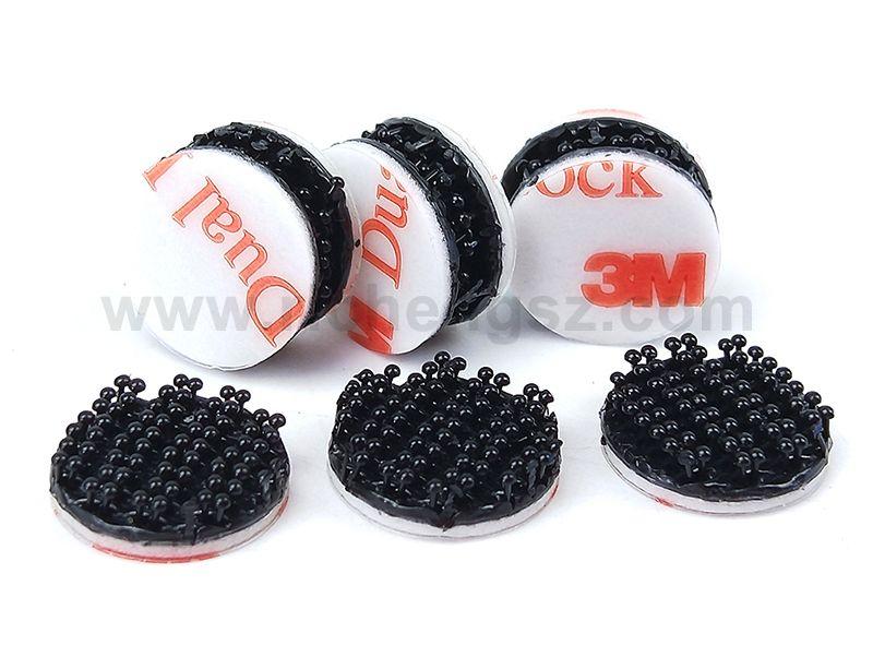 22MM Die Cut circle 3M Dual Lock Reclosable Fastener SJ3551.Supply 3M original reclosable fastener to slit cut