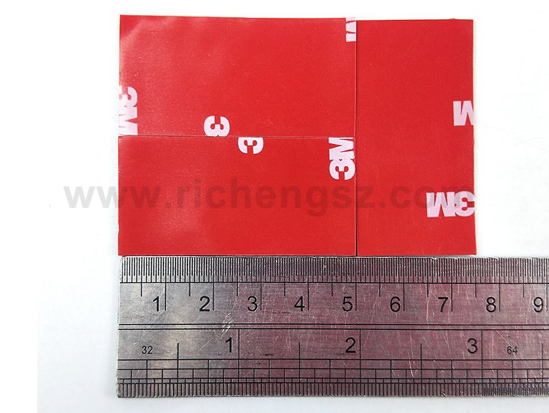 Size 25mm*50mm Gray 3M 4229P Automotive Double Sided Acrylic Foam Tape/high Sticky Auto Foam Tape/thickness 0.8mm.