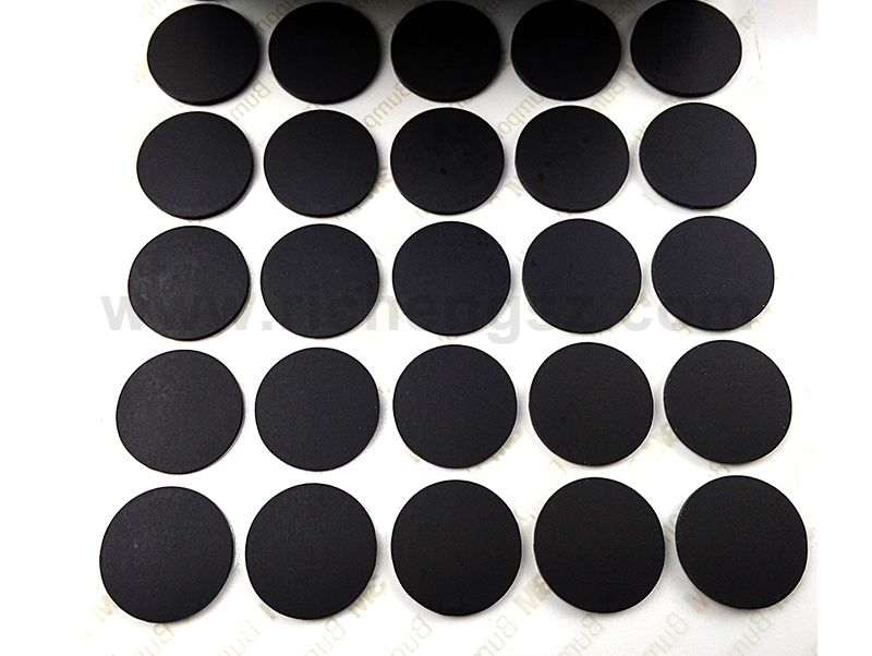 3M Tape Original Products Black Bumpon Feet Pads 3M Adhesive Tape Protective Rubber Dots Die Cut circle