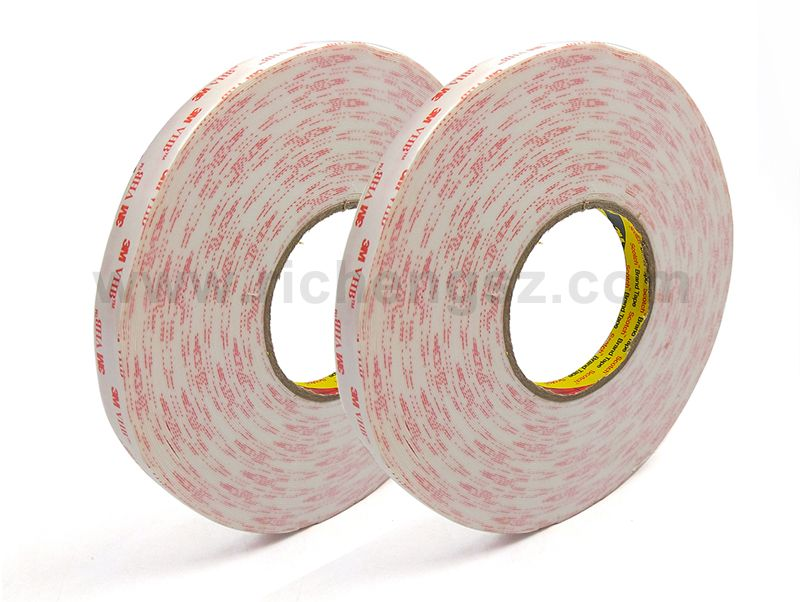 vhb white acrylic foam waterproof adhesive tape