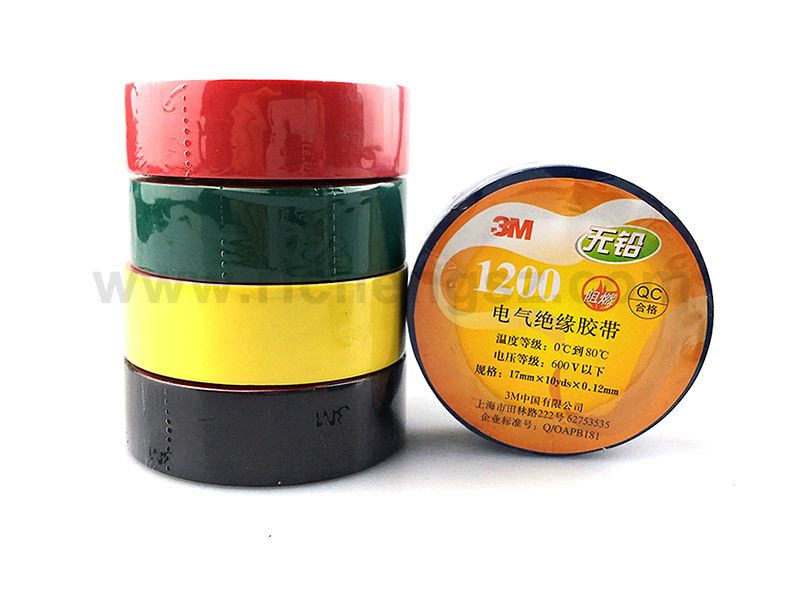 PVC Insulation Vinyl Electrical Tape 3M 1200 For All Manner Of Indoor And Outdoor