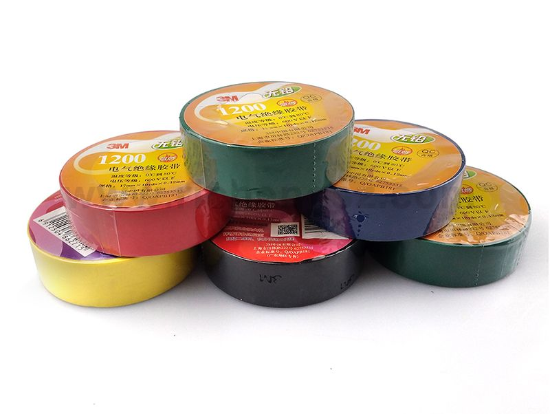 PVC Insulation Vinyl Electrical Tape 3M 1200 For All Manner