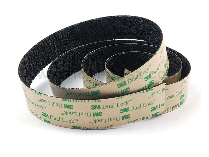 3M Scotch SJ4575 Black Low Profile Reclosable Fastener Tape