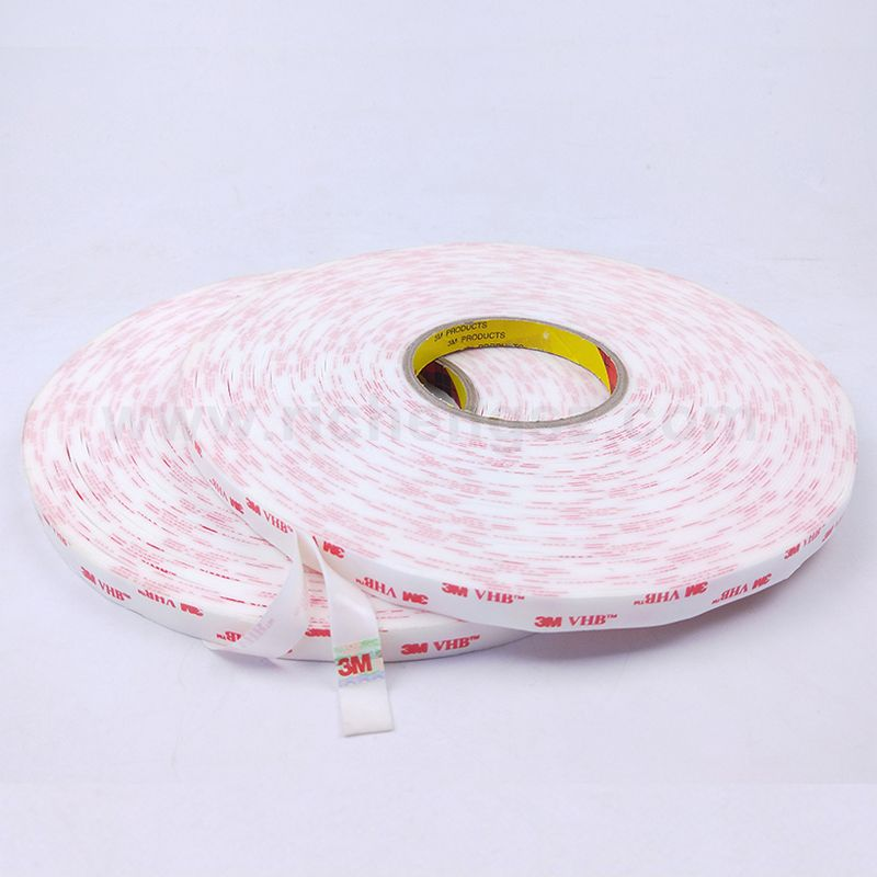 quality chinese 3M 4959 VHB  double sided  applicator adhesive foam tape