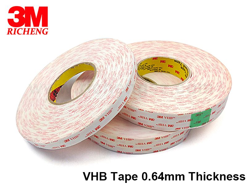 HOT 3M 4930 heat resistant double sided tape can cut