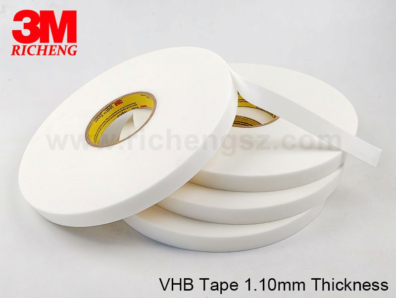 High temperature resistant 3M VHB 4951 double sided adhesive tape