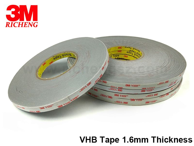 3M VHB 2019 hot sell 4956heat resistant double sided tape