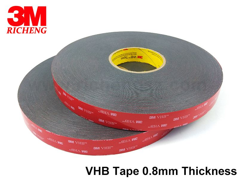 Stock 3M VHB 5608A double sided body tape adhesive waterproof and uv resistance tape
