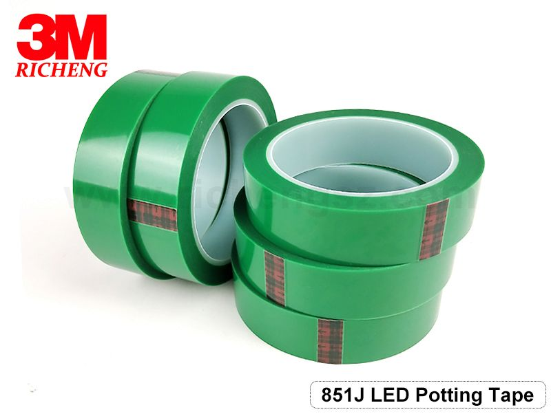 3M PET green Tape 851J industrial strength double sided tape