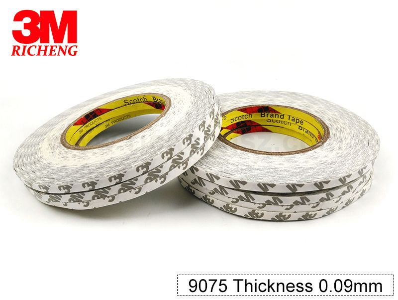 Buyers recommend 3M 9075 double sided weaving tape cotton paper