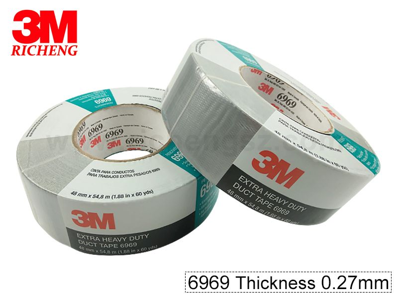3M Tape TB6969 adhesive duct tape ,we can slit and dit cut