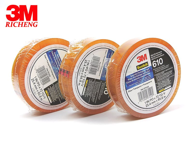 scotch tape 610-1PK Transparent Film Tape for High Temperature Applications