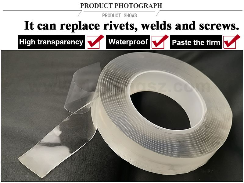 Nano Magic Acrylic transparent double-sided tape can be reused after washing