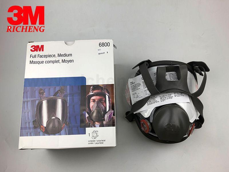 3M Full Facepiece Mask Reusable Respirator 6800