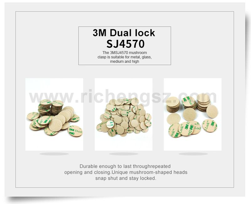 Die Cutting 3M Dual Lock Low Profile Reclosable Fastener SJ4570