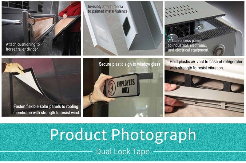 22MM Die Cut circle Dual Lock Tape 3M SJ3551