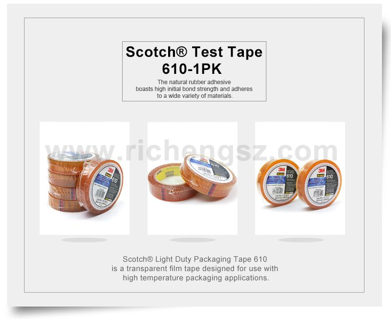 Scotch® Light Duty Packaging Tape 3M 610
