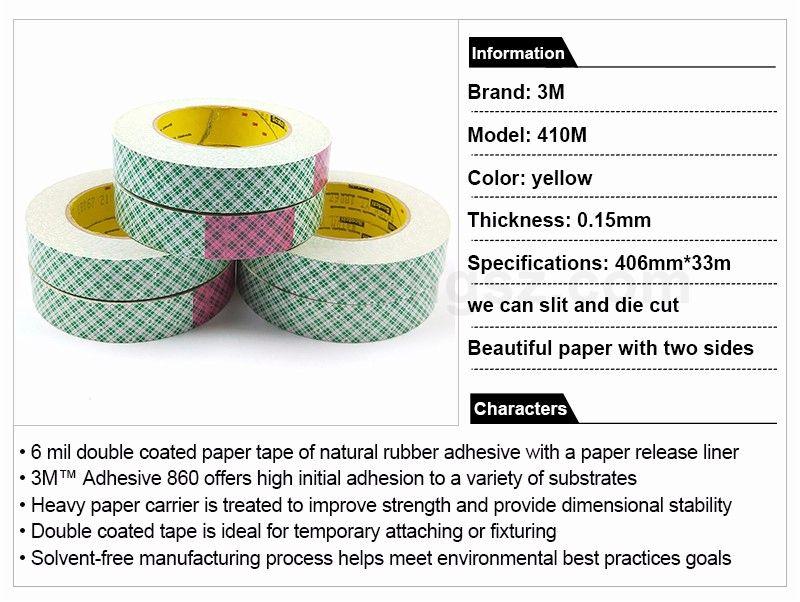 3M TB410 masking tape double sided sealing  waterproof tape