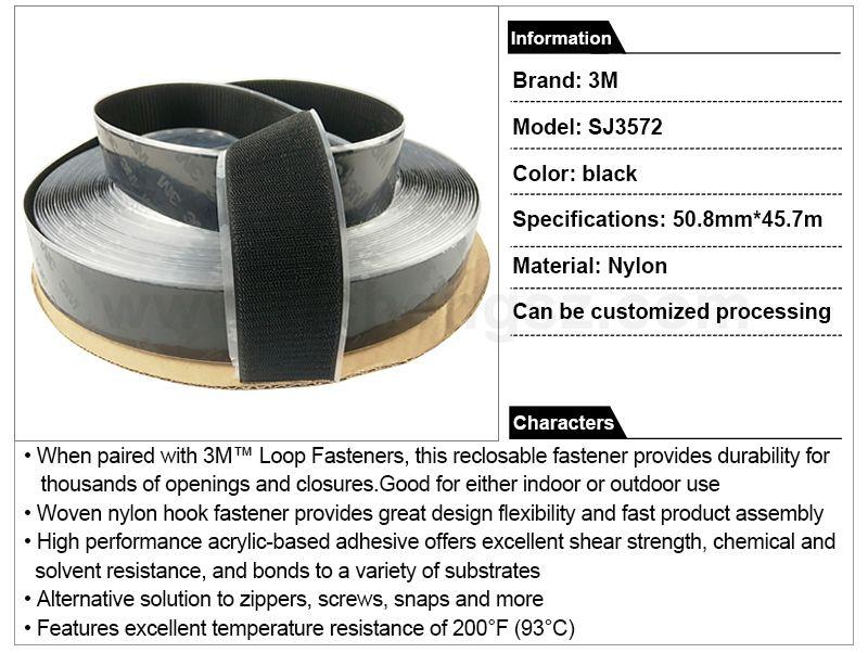 3M™ Hook Fastener SJ3572